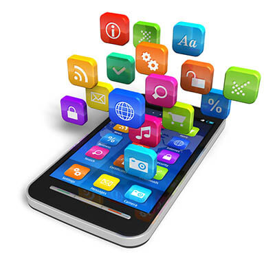 Mobile with applications